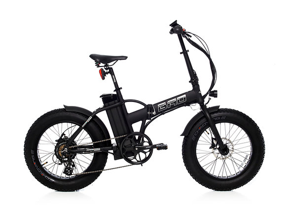 "Bad Bike Klapprad mit FAT Bereifung ""Black Phantom"""