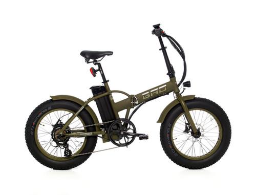 bad bike klapprad mit fat bereifung army edition stm e. Black Bedroom Furniture Sets. Home Design Ideas