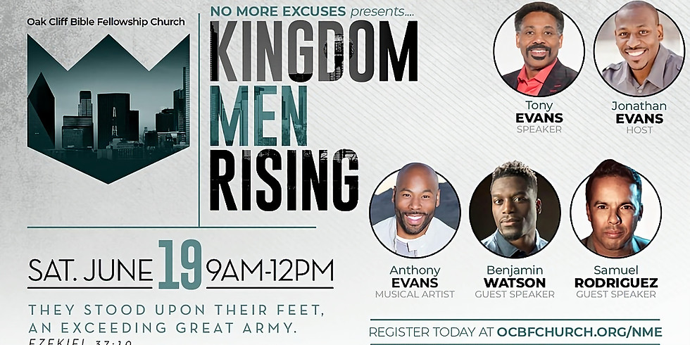 Kingdom Men Rising Conference
