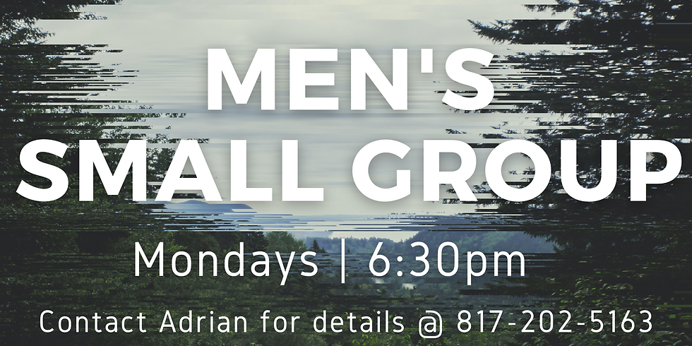 Men's Small Group