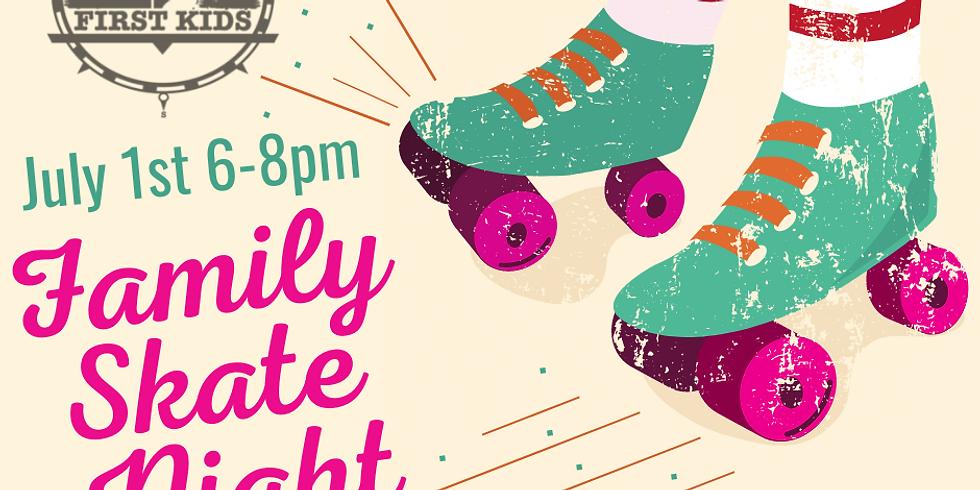 First Kids Family Skate Night