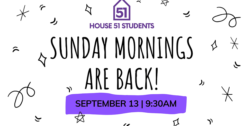 H51 Sunday Morning Bible Study