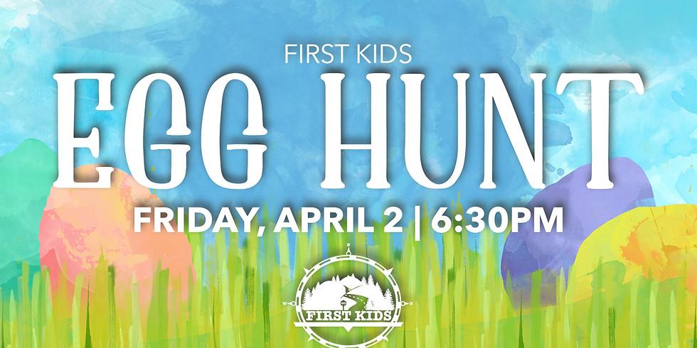 First Kids Egg Hunt