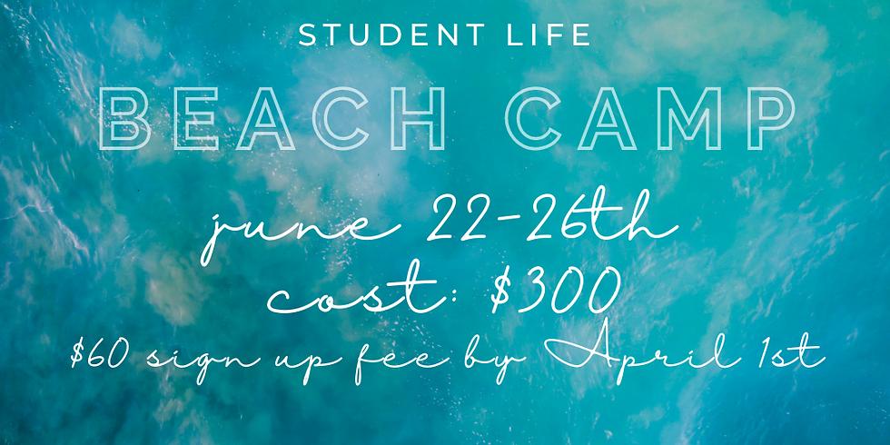 Student Life Beach Camp