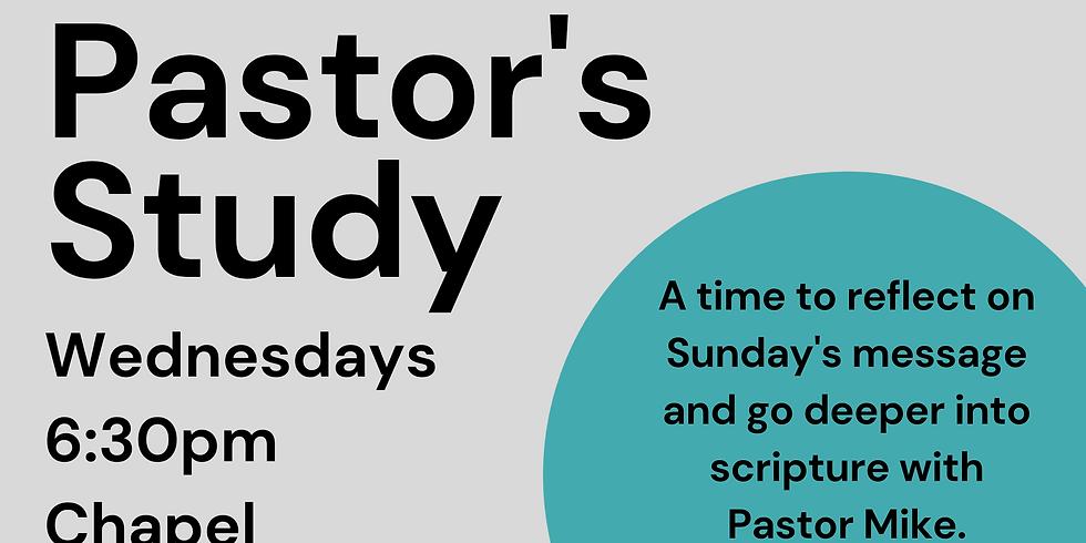 Pastor's Study
