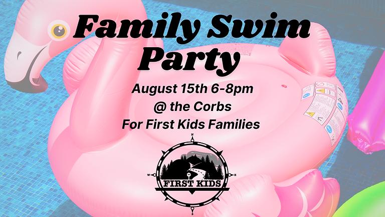 Family Swim Party