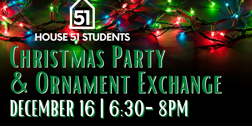 Christmas Party & Ornament Exchange