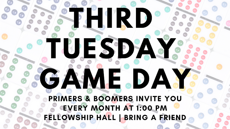 Third Tuesday Game Day