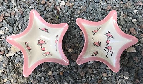Starfish Appetizer w/ Flamingo Design