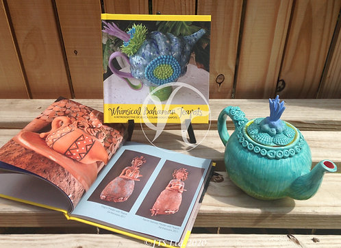 Whimsical Bahamian Teapot Book