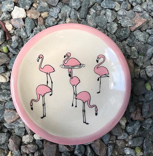 JTS Ltd Coaster with Flamingo Design
