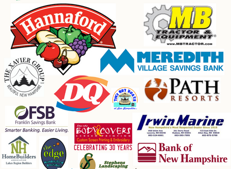 Our Sponsors for the Children's Auction as of October 13, 2020