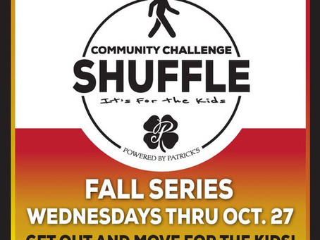 Community Challenge Shuffle is Back~ every Wed. until Oct. 27