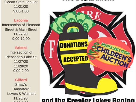Boot Drives are quickly approaching! Please stop by and support your local fire department!