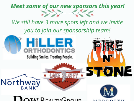 Welcome to some of our new 2021 Children's Auction Sponsors!