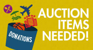 Ship donated items directly to us for the Auction