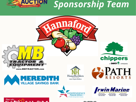 Sponsorship Opportunities for the 40th year of the Children's Auction