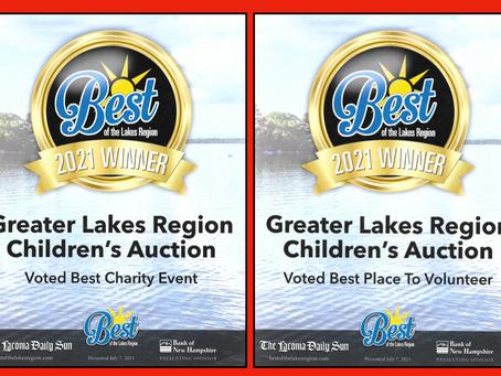 Best of The Lakes Region Gold Winner!