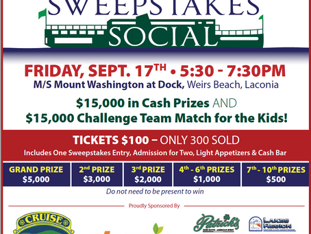 Inaugural Sweepstakes Social will raise funds for Children's Auction