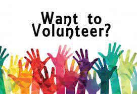 We need volunteers for Saturday, June 19th!