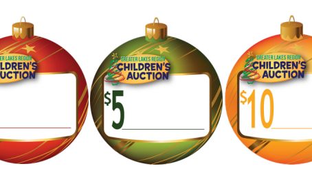 A simple way for all Local Retail & Business Locations to support the Children's Auction