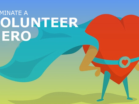 Nominate an amazing volunteer and they may win $1000 with a matching donation for their nonprofit