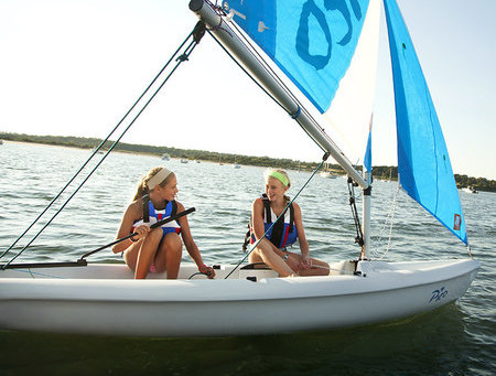 Fay's Boat Yard Donating a Pico Sailboat for the Auction
