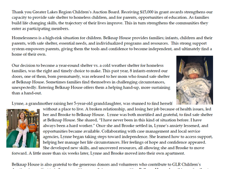 Nonprofits share the impact that  the Children's Auction grants have made on the children they serve