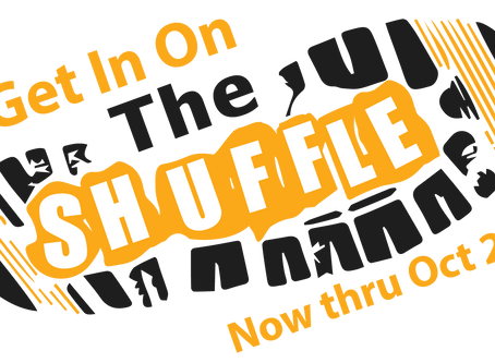 Shuffling this Wednesday at  your home or at Water Street Cafe!