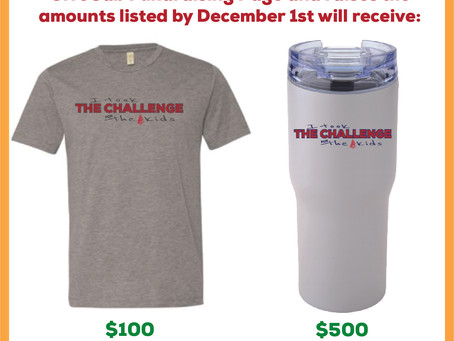 Take The Challenge and Snag Some Swag!