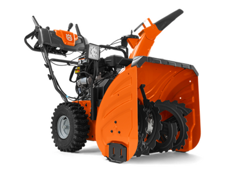 MB Tractor generously donating 3  Husqvarna ST327P snow throwers.