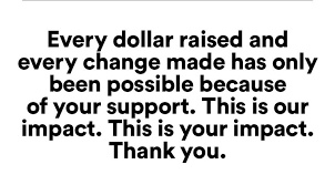 Grateful words from nonprofits that you helped fund! Read about the impact you make possible.