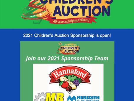 Children's Auction June News Blast