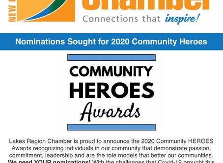 Looking for 2020 Community Heroes
