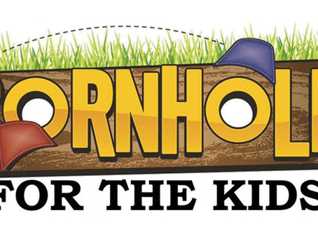 Cornhole for the kids Saturday, October 24, 2020 at 11 am