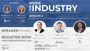 2021 Vanguard Scientific Virtual Summit | Inside the Industry | Session 2 | Speaker Profiles