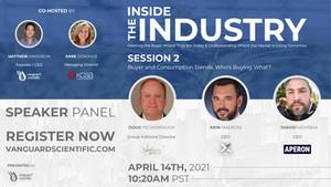 2021 Vanguard Scientific Virtual Summit | Inside the Industry | Session 3 | Speaker Profiles