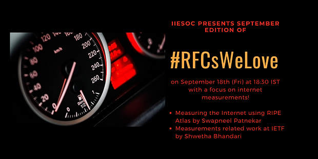 IIESoc presents September months edition