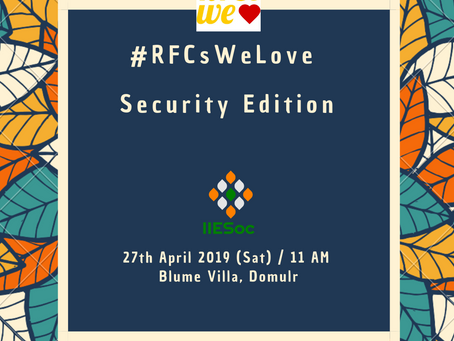 RFCs We Love: Security Edition
