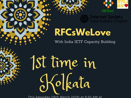 RFCs We Love: With IICB in Kolkata
