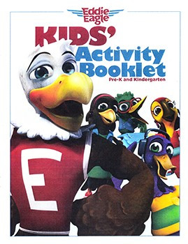 Eddie Eagle coloring book from the NRA's Eddie Eagle gun safety education program for children