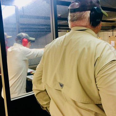 Mountain Rose Defensive Training takes students from age 7 and up! This high schooler enjoyed a day at the range with his family...and some training.