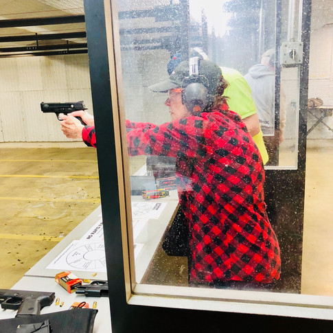 Our gun classes will help you feel knowledgeable, confident, and safe.