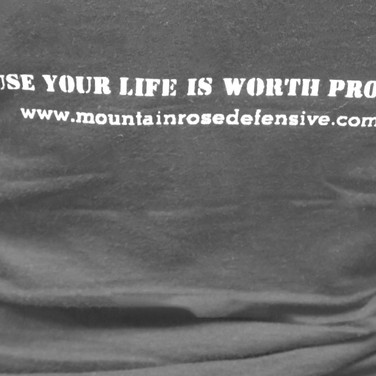 Mountain Rose Defensive Training apparel