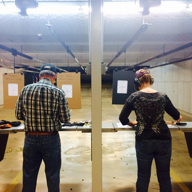 These students all shot a Level 3 (blue) qualification after hours of hard work on the firing line!