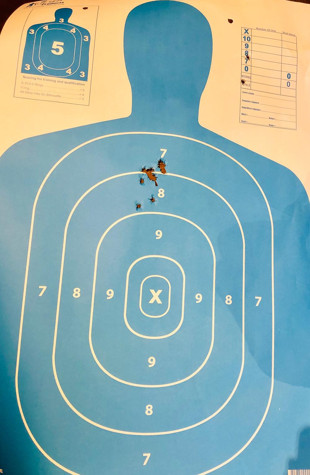This student genuinely believed she wasn't shooting well at her very first lesson.