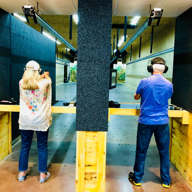 The couple that shoots together, stays together!