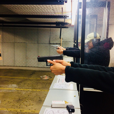 This family took aim together at our indoor range just an hour north of Atlanta.