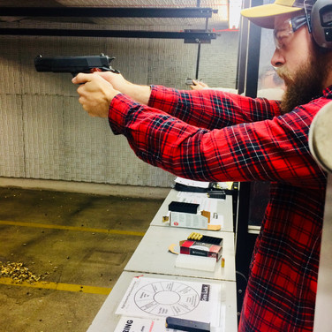 Getting down to business with a .45