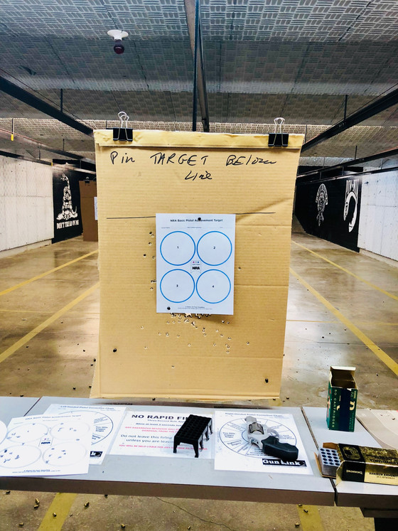 You just took your first basic pistol class. Now what?